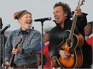 Seeger and Springsteen